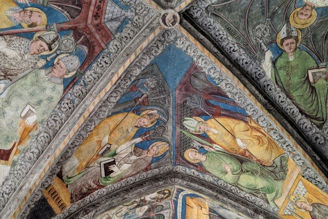 Day trips from Innsbruck for Christmas: Painted cloisters in Brixen Italy