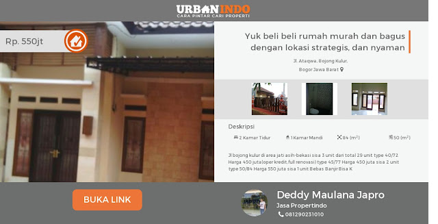 Yuk! Beli rumah murah melalui urbanindo