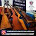 BOQUIRA-BA: PM APREENDE CINCO ESPINGARDAS DE FABRICAÇÃO ARTESANAL NA COMUNIDADE DE MANDACARÚ