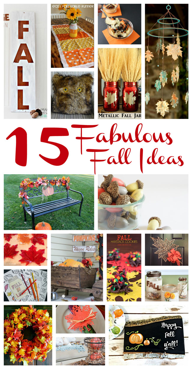 Pieces By Polly 15 Fabulous Fall Ideas And The Weekly Block