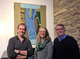 Rob Evans, Sue Reno, Mark Platts at Zimmerman Center