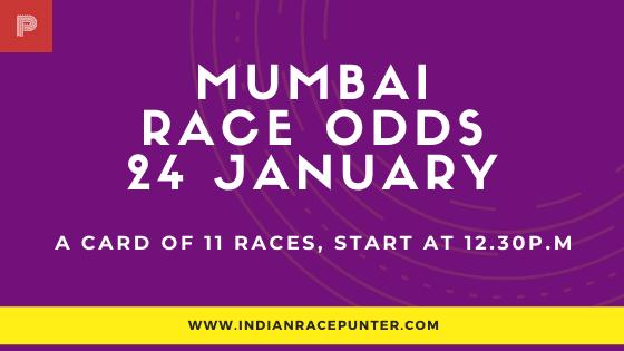 Mumbai Race Odds 24 January