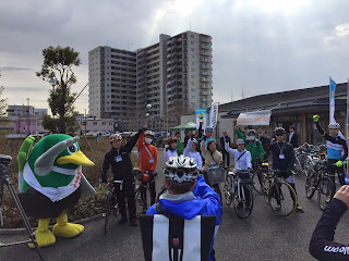 サイクリングイベント「ポタガールと市内観光スポットを自転車で回ろう」を開催