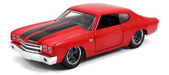 coleccion rapido y furioso, coleccion rapido y furioso jada tyos, coleccion rapido y furioso 1/32, 1970 Chevy Chevelle SS