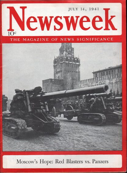 Newsweek, 14 July 1941 worldwartwo.filminspector.com