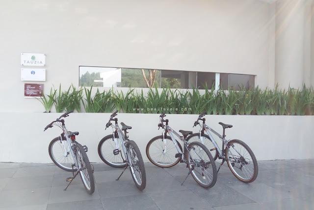 Sepeda di Pesona Alam Resort & Spa