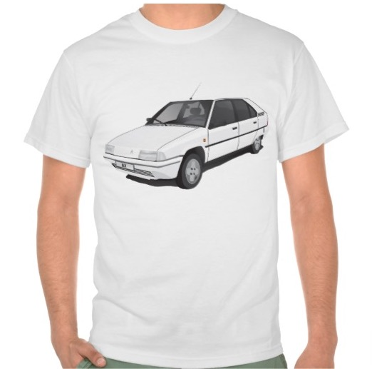 Citroën BX t-shirts white