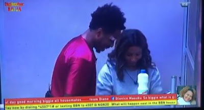 "BBNaija: ""I Have Enough Clothes To Wear Without Repeat, I Don't Smell"" - Mercy Tells Ike (VIDEO)"
