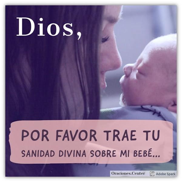 Oración para un Bebé Enfermo