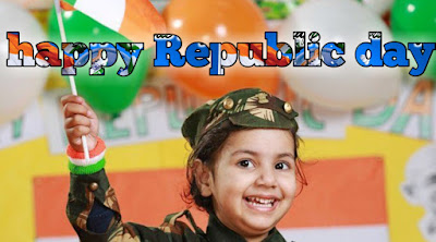 Beautiful baby happy republic day images 2020