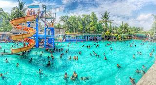 Wisata Waterbyur Tirta Tamansari Bantul, Wahana Bermain Air