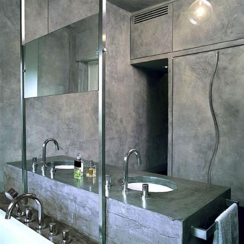 Consigli per la casa e l 39 arredamento pavimento in resina - Resina per pareti bagno ...
