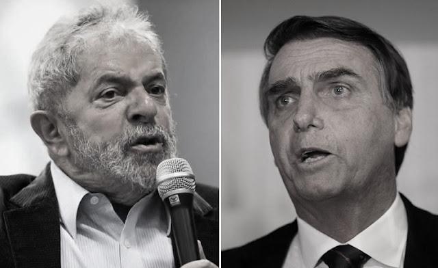 Lula diz que Bolsonaro não tem chance.