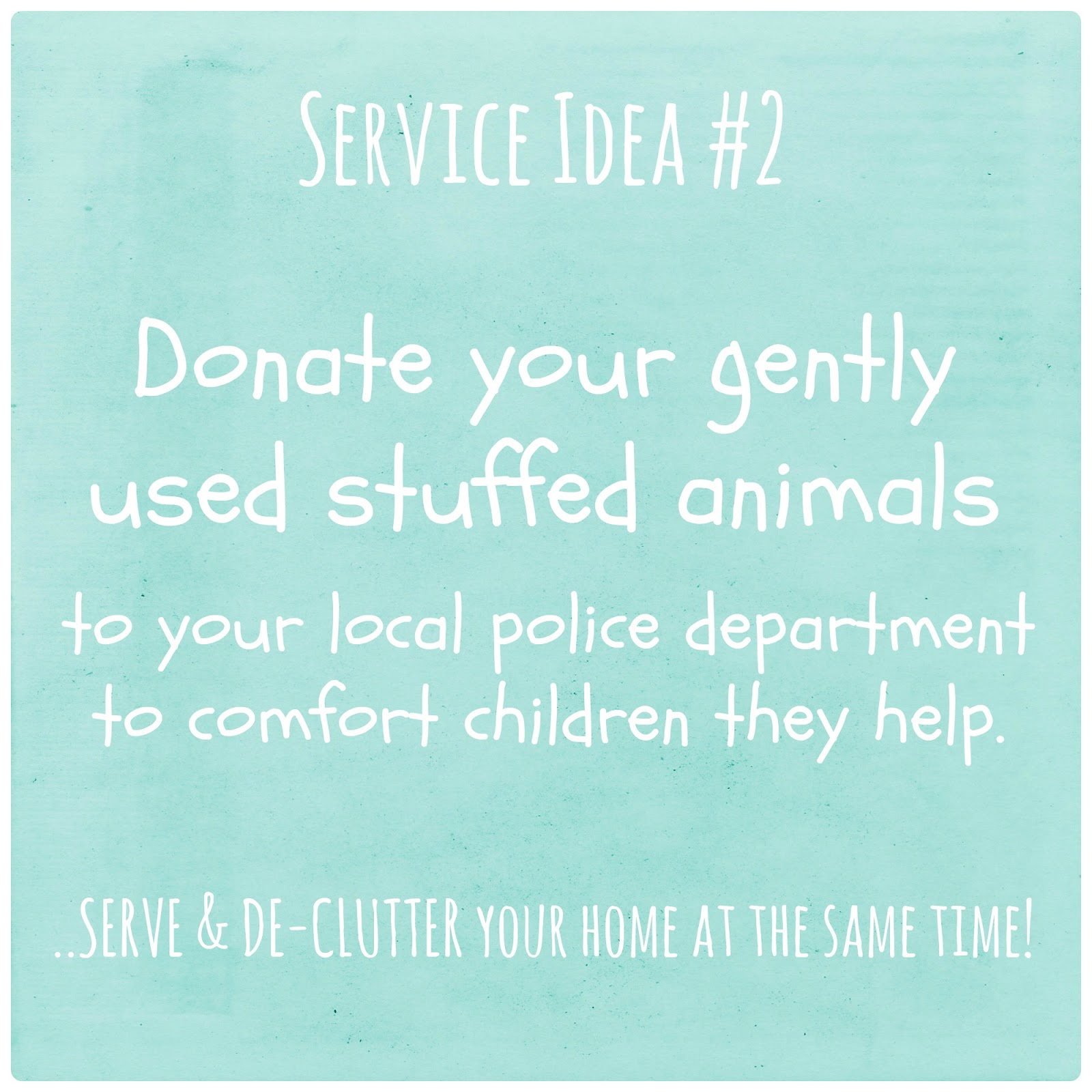 Trust Me I m a Mom Kids Service Idea Donating Toys