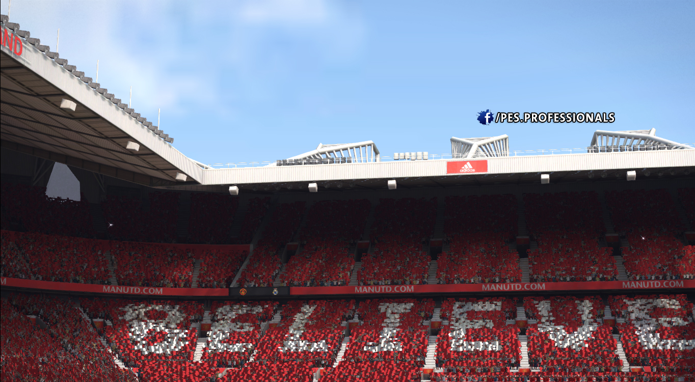 Old Trafford Stadium PES Profesisonals Patch V1