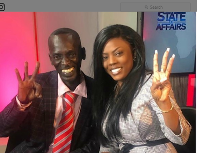MUSG WATCH: Sad Momment As Honorable Aponkye Cries whiles TV Host Nana Aba Left Him Today For Work..{Video}