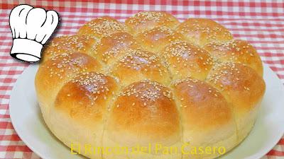 Receta fácil del pan chino de los restaurantes Venezolanos