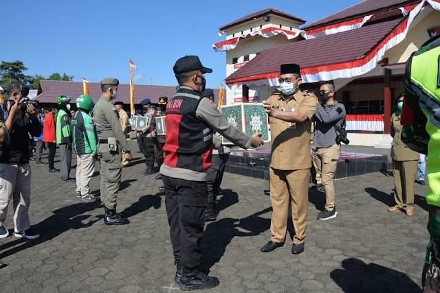 Pelepasan 5.700 Paket Sembako, Bagi Masyarakat Jambi yang Terdampak Covid-19
