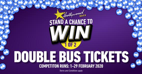 Win 2x TicketPro Bus Tickets