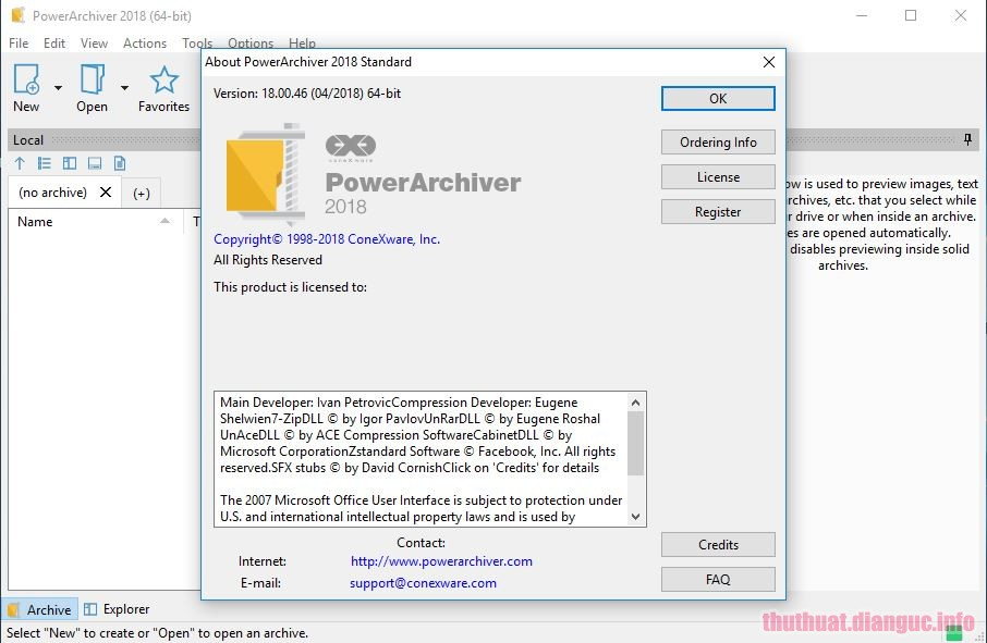 Download PowerArchiver 2019 Professional 19.00.50 Full Crack