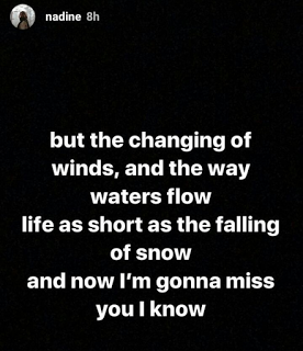 Nadine Lustre Instagram post depression