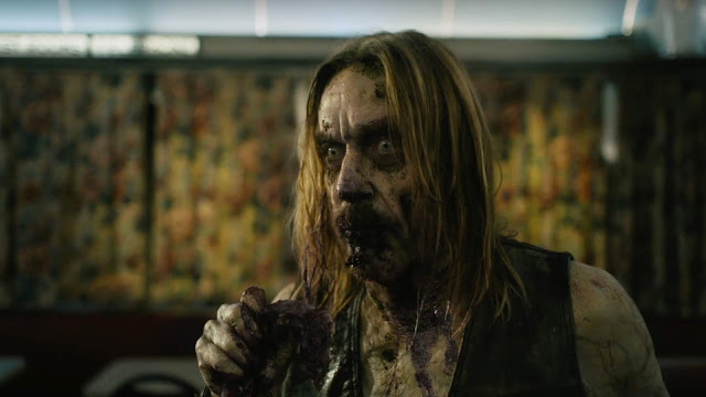 Iggy Pop as a zombie