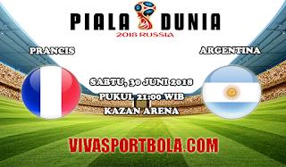 Prediksi Bola Prancis vs Argentina 30 Juni 2018