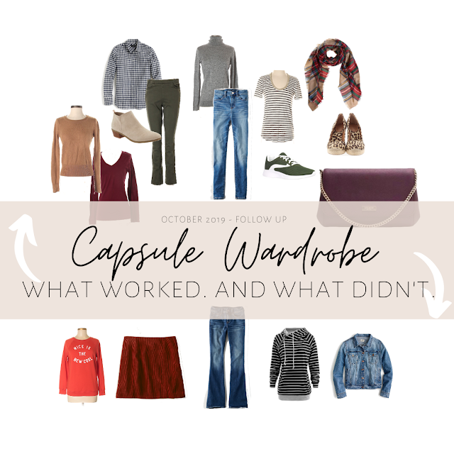 October Wardrobe Capsule What Worked and What Didn't Work