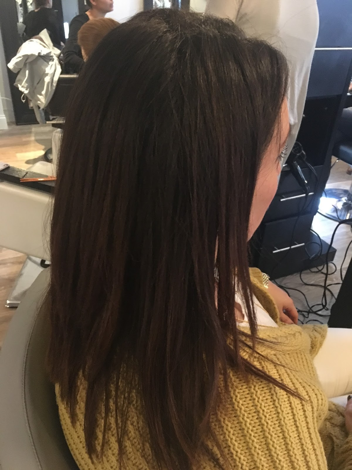 Hair Extensions By Jaclynn Kate Brunette Hair Extensions Done In