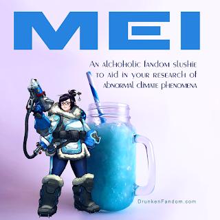 Mei's alcoholic slushie