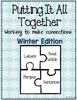 FREEBIE Putting it Together: letters, words, and sentences
