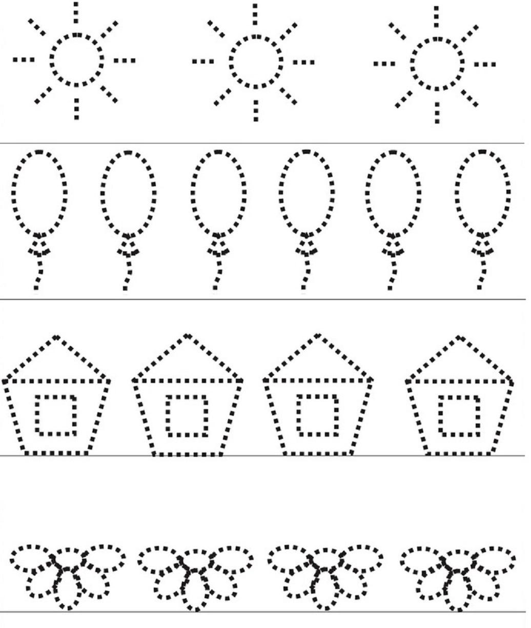 Early Education Kindergarten Worksheet Free