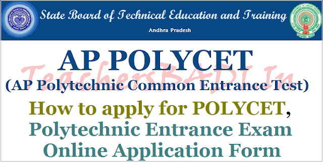 How to apply for AP POLYCET 2018,Online application form,https://polycetap.nic.in