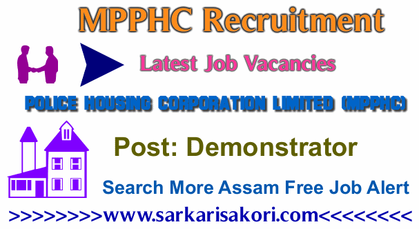 MPPHC Recruitment 2017 Demonstrator