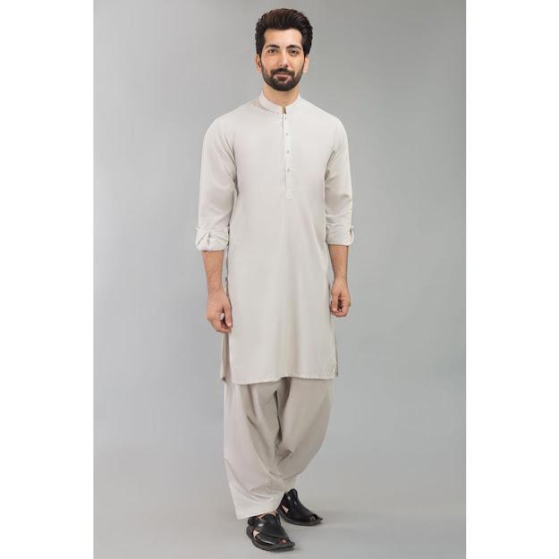 Gul Ahmed Mint bsic Men's suits