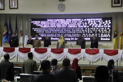 DPRD Lampung Apresiasi Pemprov Lampung Selesaikan Hutang DBH kepada Kabupaten/Kota