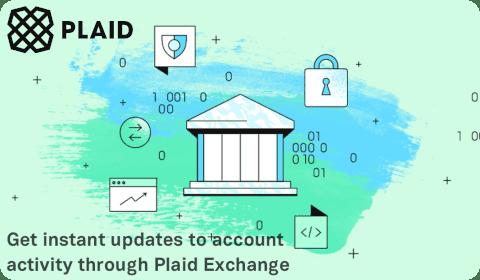 Plaid Instant Updates