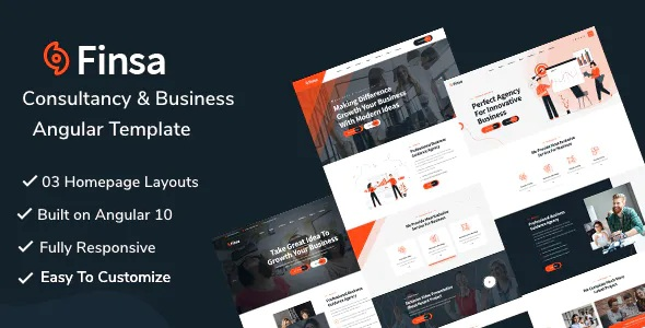 Best Consultancy & Business Angular Template