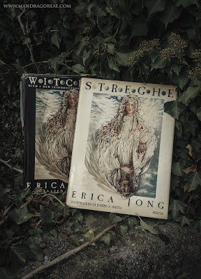"""English and Italian editions of Erica Jong's classic book """"Witches"""""""
