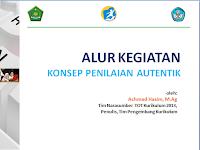 KONSEP PENILAIAN AUTENTIK PADA PROSES DAN HASIL BELAJAR  KURIKULUM 2013