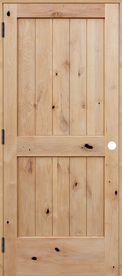 image result for unfinished knotty alder door Pacific Entries ... & Choosing Wood Doors for the Fixer Upper DIY - Hello Lovely