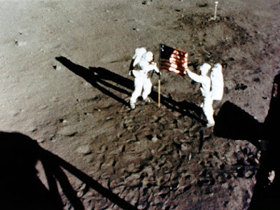 On 20 July 1969, Neil Armstrong and Buzz Aldrin landed on the moon