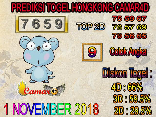 1 November 2018