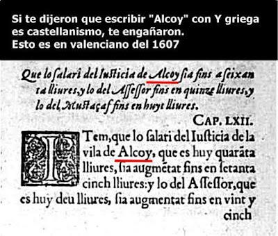 Valensiá, Alcoy, 1607
