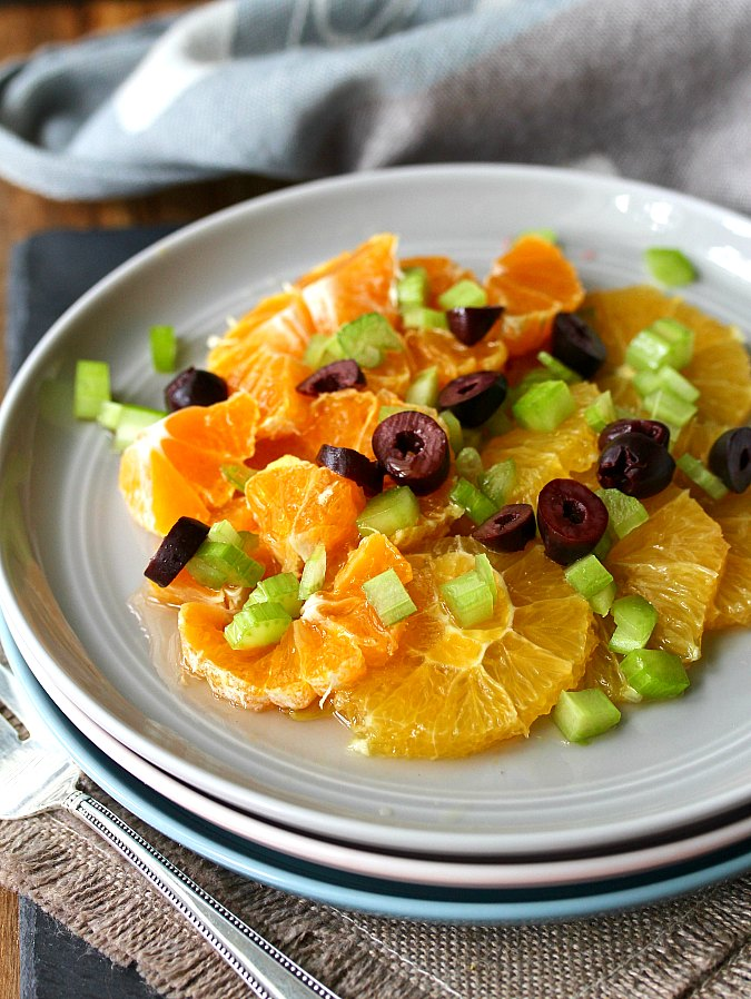 Citrus and Celery Salad with Kalamata Olives