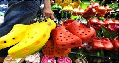 calzado peligroso de plastico