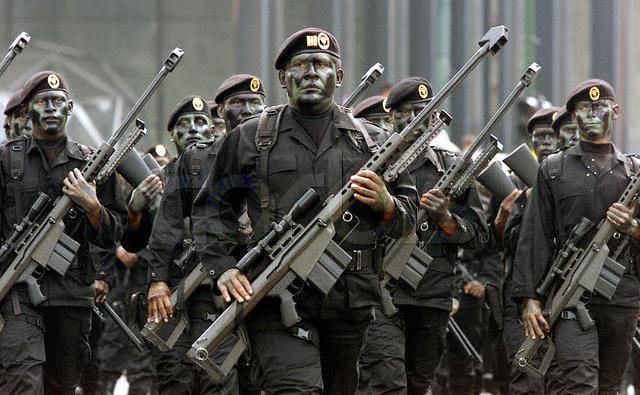 Operaciones encubiertas y clandestinas de grupos de élite de Marina contra el narcotráfico