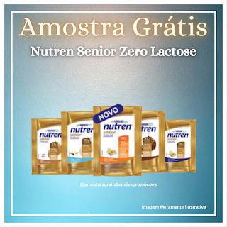 Amostra Grátis Nutren Senior Zero Lactose