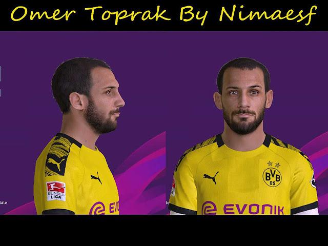 PES 2017 Ömer Toprak Face By Nimaesf