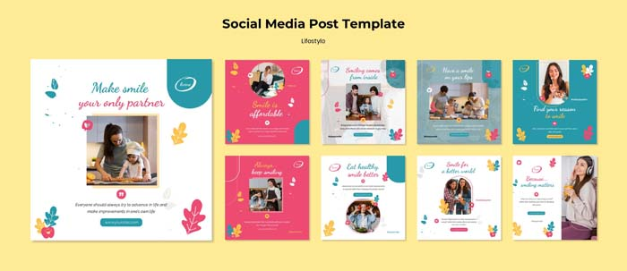 Lifestyle Social Media Post Template